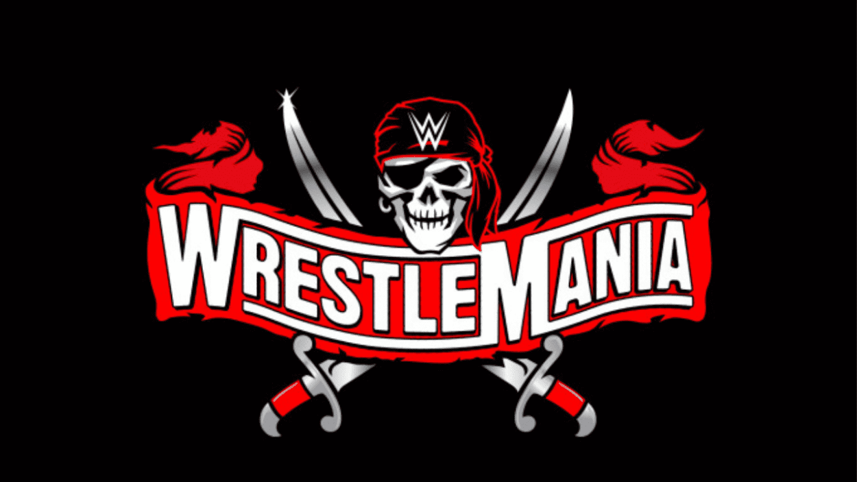 WrestleMania 37 logo