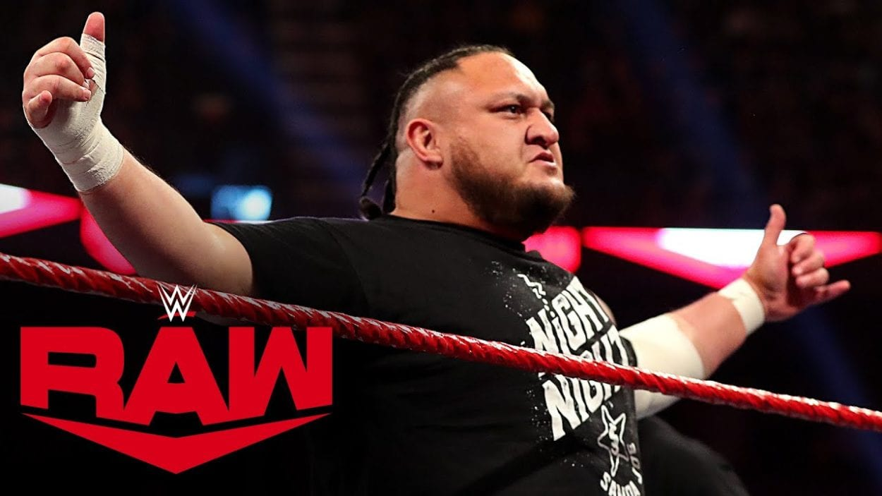 Samoa Joe beofre he was released by the WWE. What happens to him now?