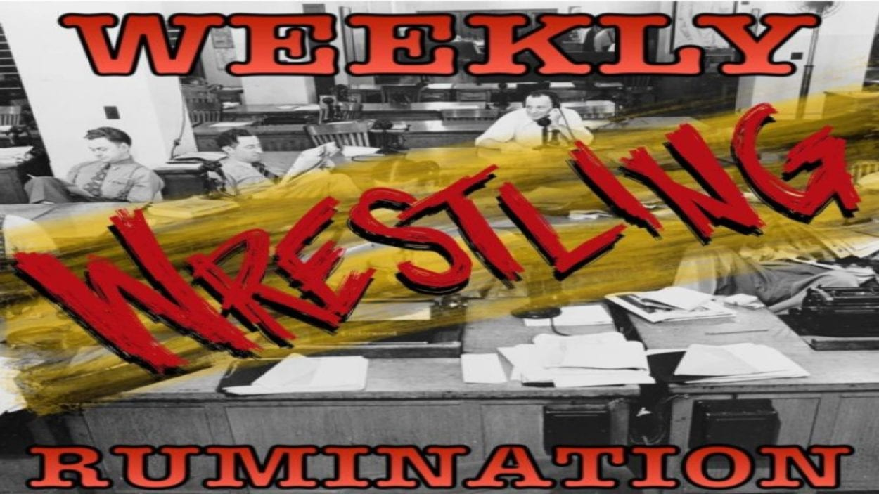 The logo for Weekly Wrestling Ruminations