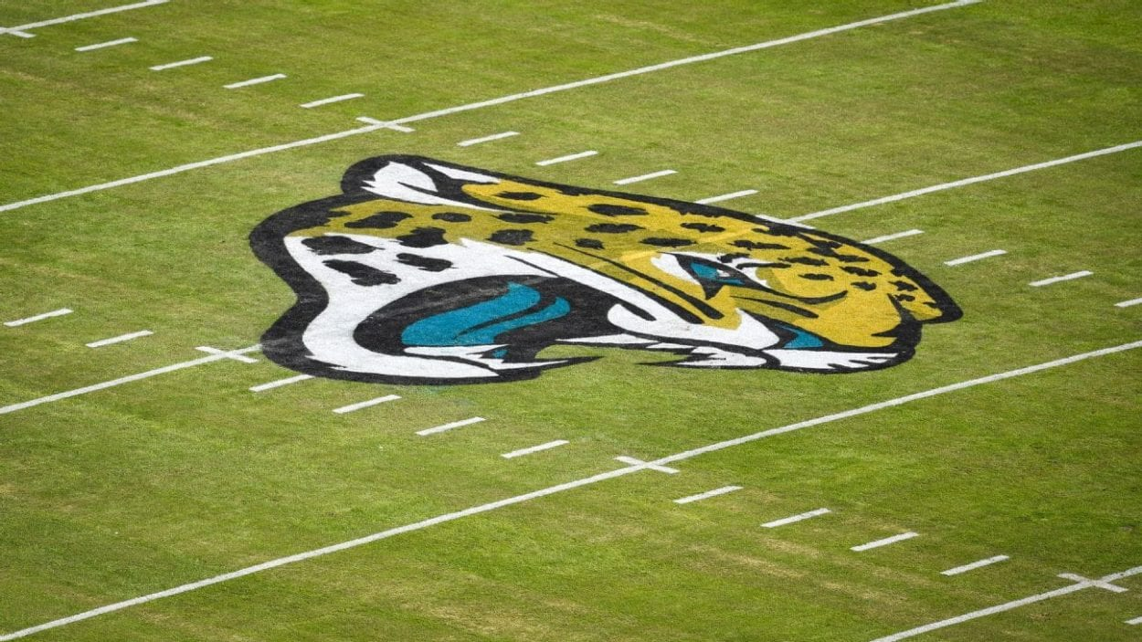 Ariel view of the Jacksonville Jaguars field
