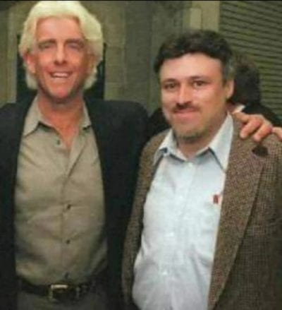 Mike Mooneyham and Ric Flair