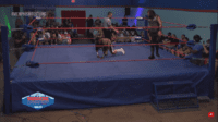 Chris Lexx and Action Jackson go at it in the new Memphis WrestleCenter