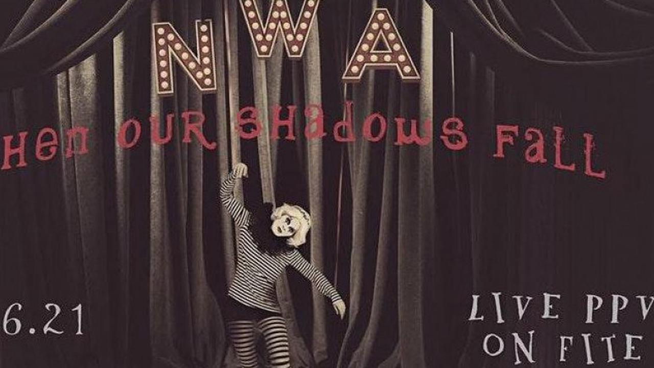 NWA When Our Shadows Fall Poster