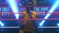 'Da Pope' Elijah Burke lays down the law on the mic at Prime Time Live