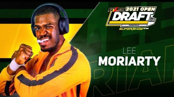 Lee Moriarty MLW 2020 Open Draft title card
