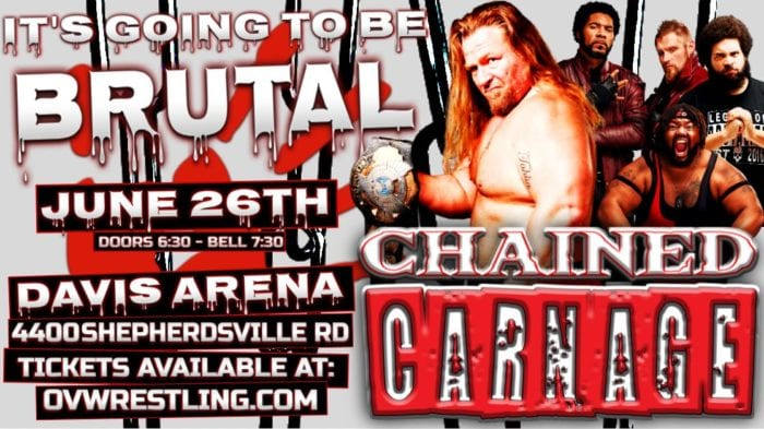 OVW Chained Carnage promotional poster