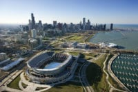 Soldier Field From Above