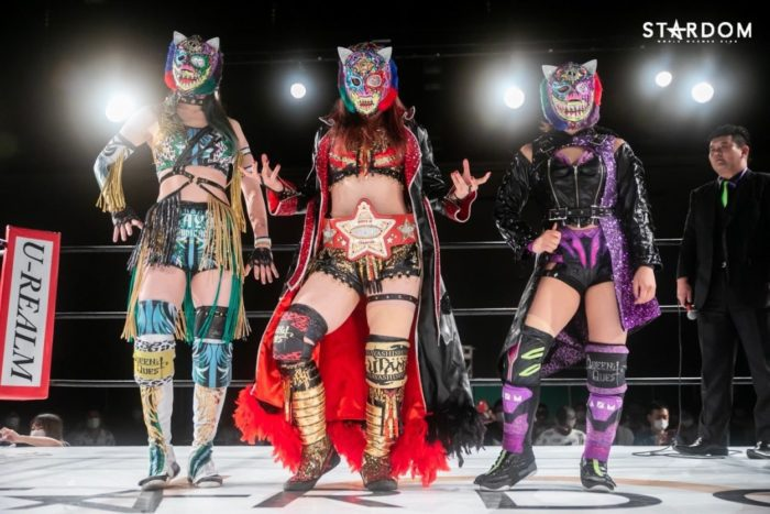 The Ladies of Queens Quest prepare for the 5Star GP tournament