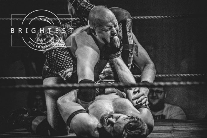 Mr. Charles Crowley surprises everyone by beating Gene Munny with The Weasel's Clutch at Catch Pro-Wrestling
