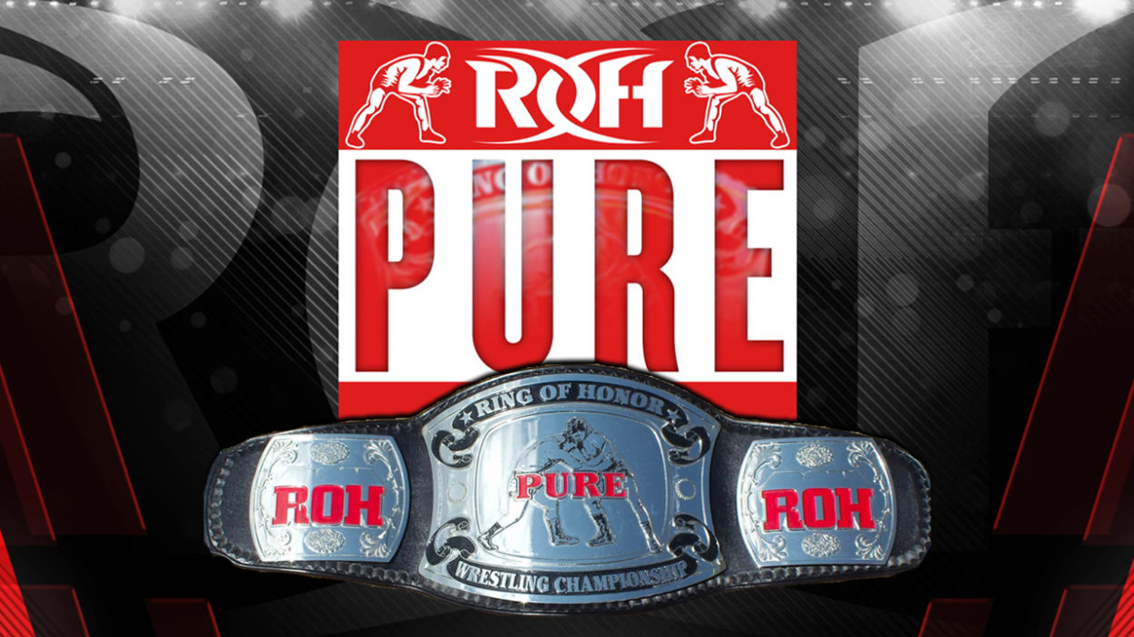 ROH Pure Championship title card