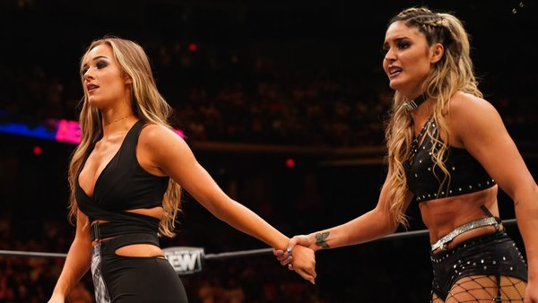 Anna Jay returned on AEW: Dynamite to reunite with Tay Conti