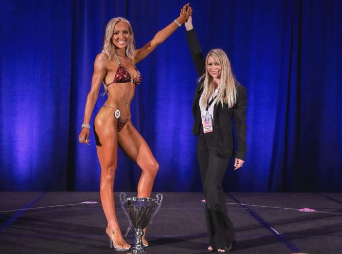 Taylor Hollohan is named winner in all divisions at her first CPA competition.