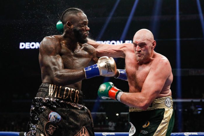 Fury And Wilder Throw Punches