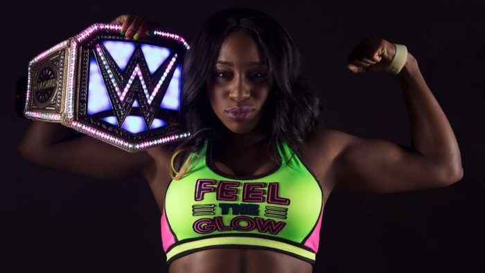 Naomi is a two time WWE Smackdown Women's Champion