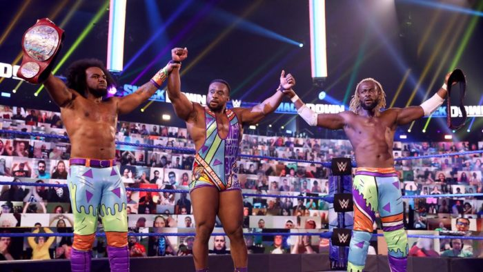 The New Day rocking gear inspired by The Rugrats
