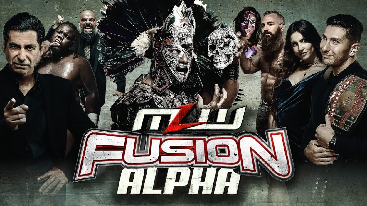 MLW Fusion ALPHA #5 shows the line up for the the show